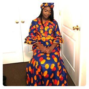 🔥African Print Clothes Set🔥
